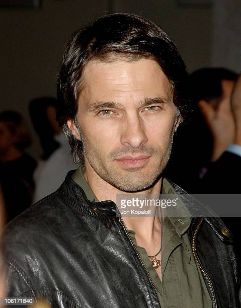 Actor Olivier Martinez arrives at the Los Angeles premiere 'American Gangster' at the ArcLight Theater on October 29 2007 in Hollywood California