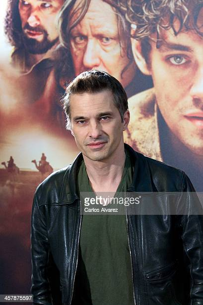 Actor Olivier Martinez attends the 'The Physician' photocall at the Hotel ME on December 19 2013 in Madrid Spain