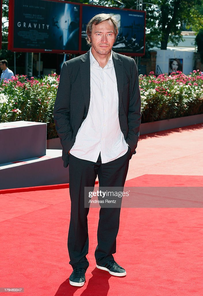 Actor Olivier Rabourdin attends the 'Eastern Boys' Premiere during the 70th Venice International Film Festival at Sala Darsena on September 4, 2013 in Venice, Italy.
