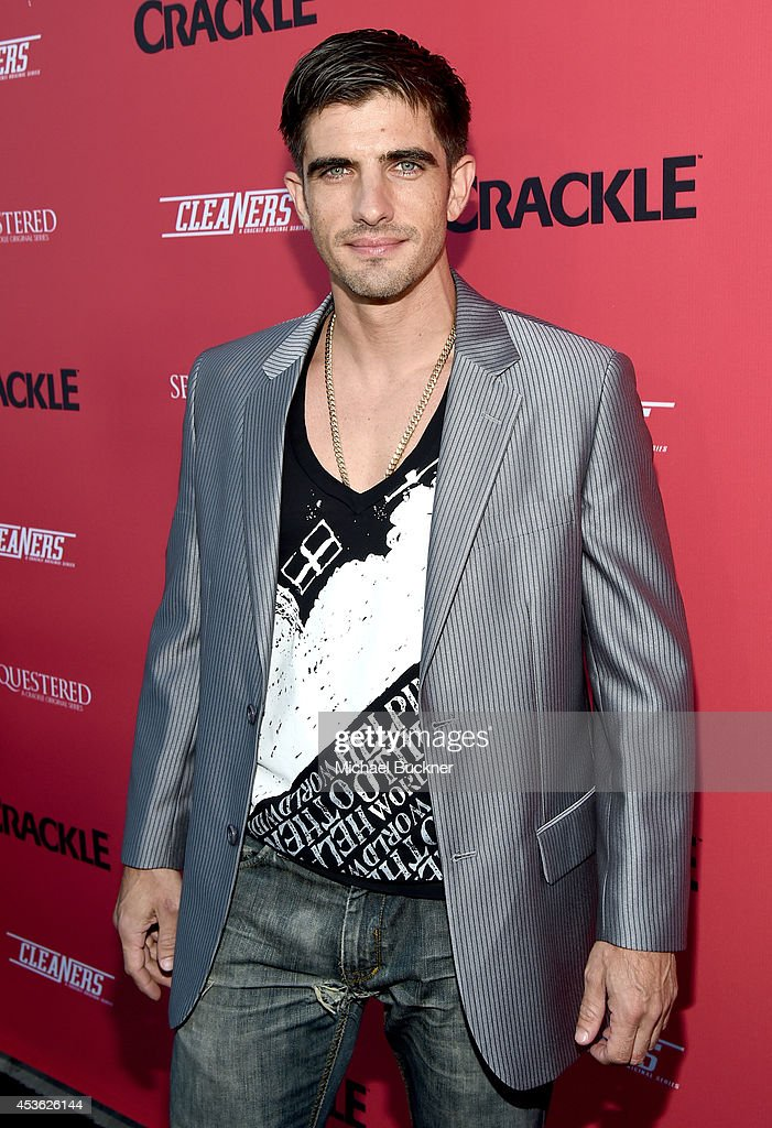 Actor Omar Avila attends Crackle Presents: Summer Premieres Event for originals, 'Sequestered' and 'Cleaners' at 1 OAK on August 14, 2014 in West Hollywood, California.