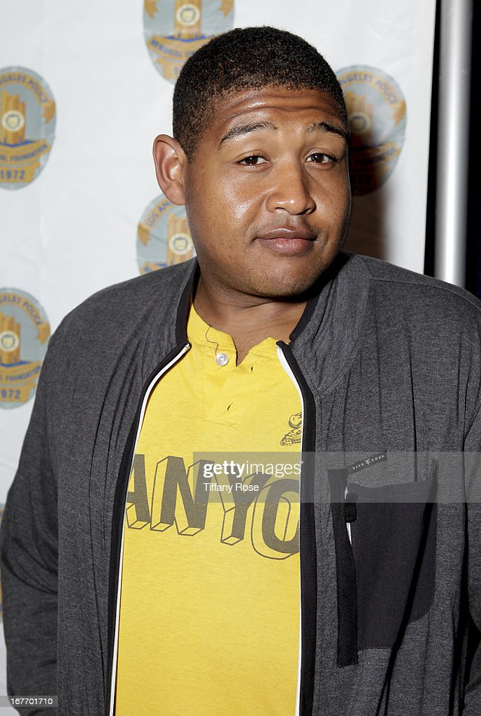 Actor Omar Benson Miller attends Los Angeles Police Memorial Foundation's Celebrity Poker Tournament at Saban Theatre on April 27, 2013 in Beverly Hills, California.