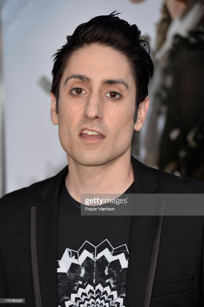 Actor Omar Doom arrives at the premiere of TriStar Pictures' 'Elysium' at Regency Village Theatre on August 7, 2013 in Westwood, California.