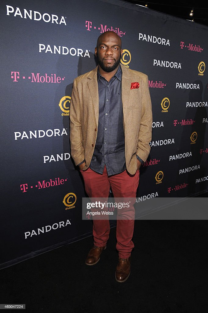 Actor Omar Dorsey arrives at the PANDORA GRAMMY after party featuring Lil Jon brought to you by TMobile on February 8, 2015 in Hollywood, California.