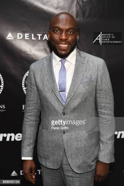 Actor Omar Dorsey at 2017 BronzeLens Women SuperStars Luncheon at Westin Peachtree Plaza on August 25 2017 in Atlanta Georgia
