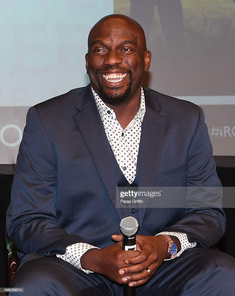 Actor Omar Dorsey on stage at 2016 BronzeLens Film Festival OWN TVÕsÊQueen Sugar special screening at Georgia Pacific Auditorium on August 26 2016 in...