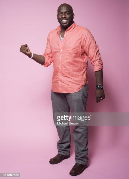 Actor Omar Dorsey poses for a portrait at the Mark Kearney Group 'Iced Out' Luxury Emmy Suite on September 20 2013 in Los Angeles California