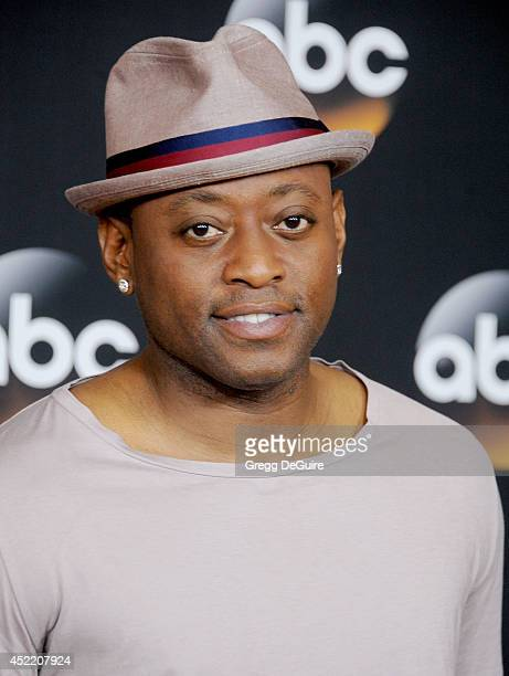 Actor Omar Epps arrives at the 2014 Television Critics Association Summer Press Tour Disney/ABC Television Group at The Beverly Hilton Hotel on July...