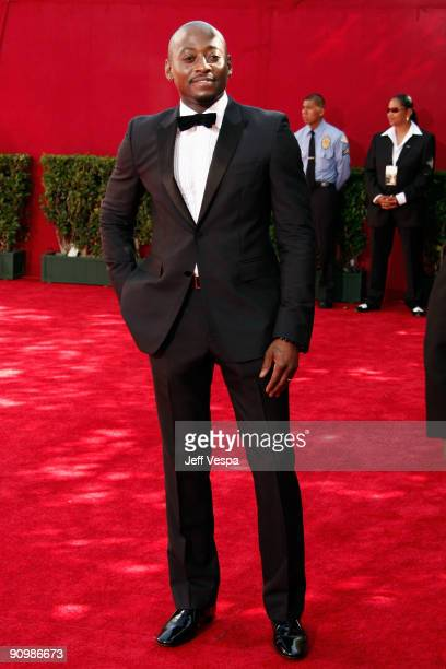 Actor Omar Epps arrives at the 61st Primetime Emmy Awards held at the Nokia Theatre on September 20 2009 in Los Angeles California