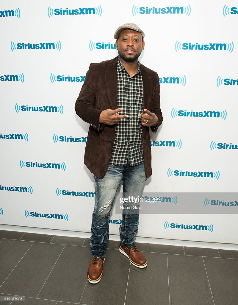 Actor Omar Epps visits the SiriusXM Studio on October 31, 2016 in New York City.
