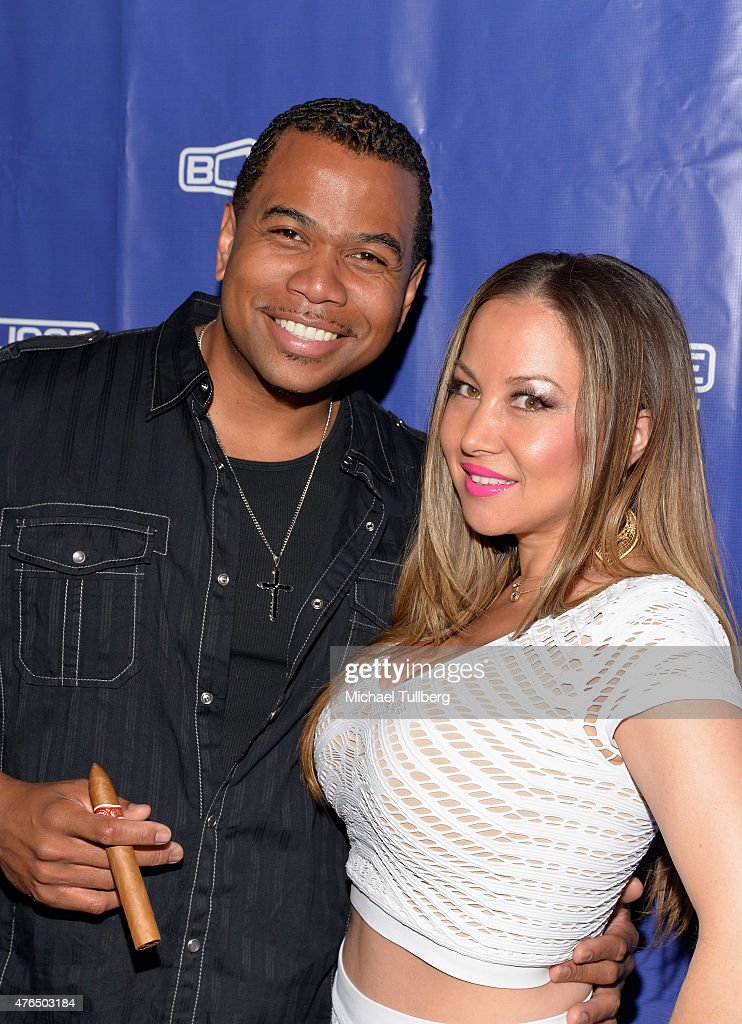 Actor Omar Gooding and guest attend the Season 3 wrap ...