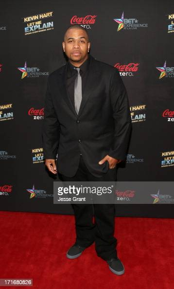 Actor Omar Gooding attends Movie Premiere 'Let Me Explain' with Kevin Hart during the 2013 BET Experience at Regal Cinemas LA Live on June 27 2013 in...