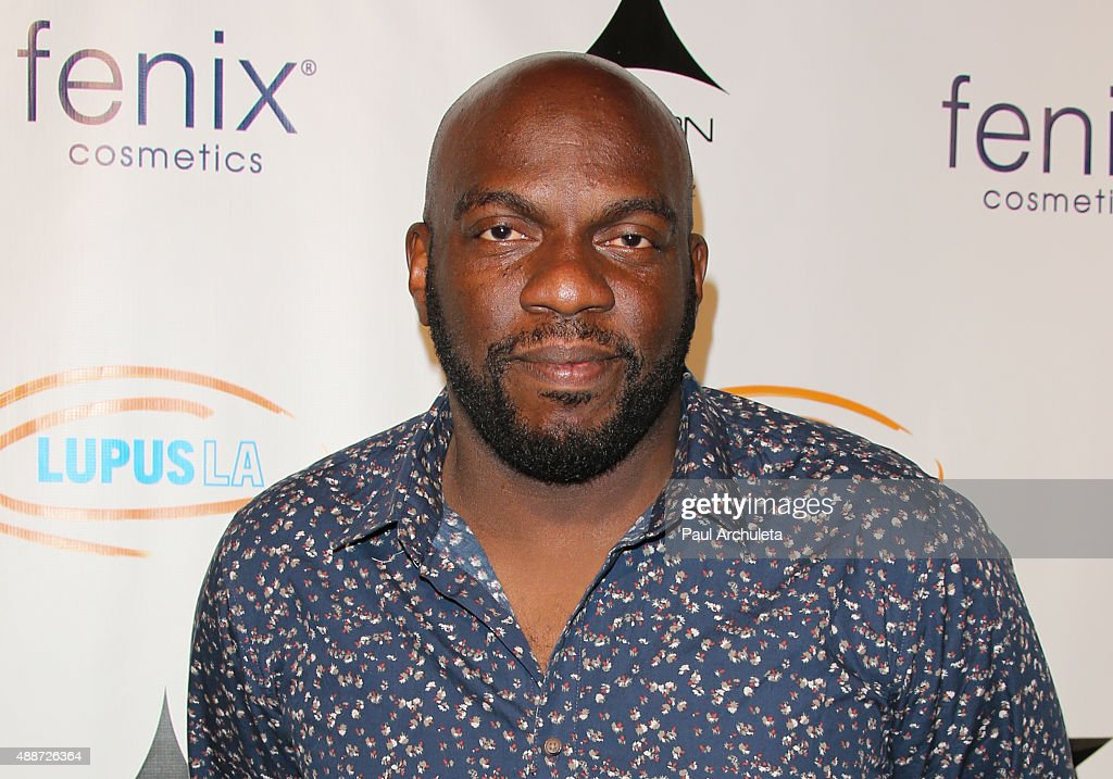 Actor <a gi-track='captionPersonalityLinkClicked' href=/galleries/search?phrase=Omar+J.+Dorsey&family=editorial&specificpeople=4029296 ng-click='$event.stopPropagation()'>Omar J. Dorsey</a> attends 'Get Lucky For Lupus LA' celebrity poker tournament and party at Avalon on September 16, 2015 in Hollywood, California.