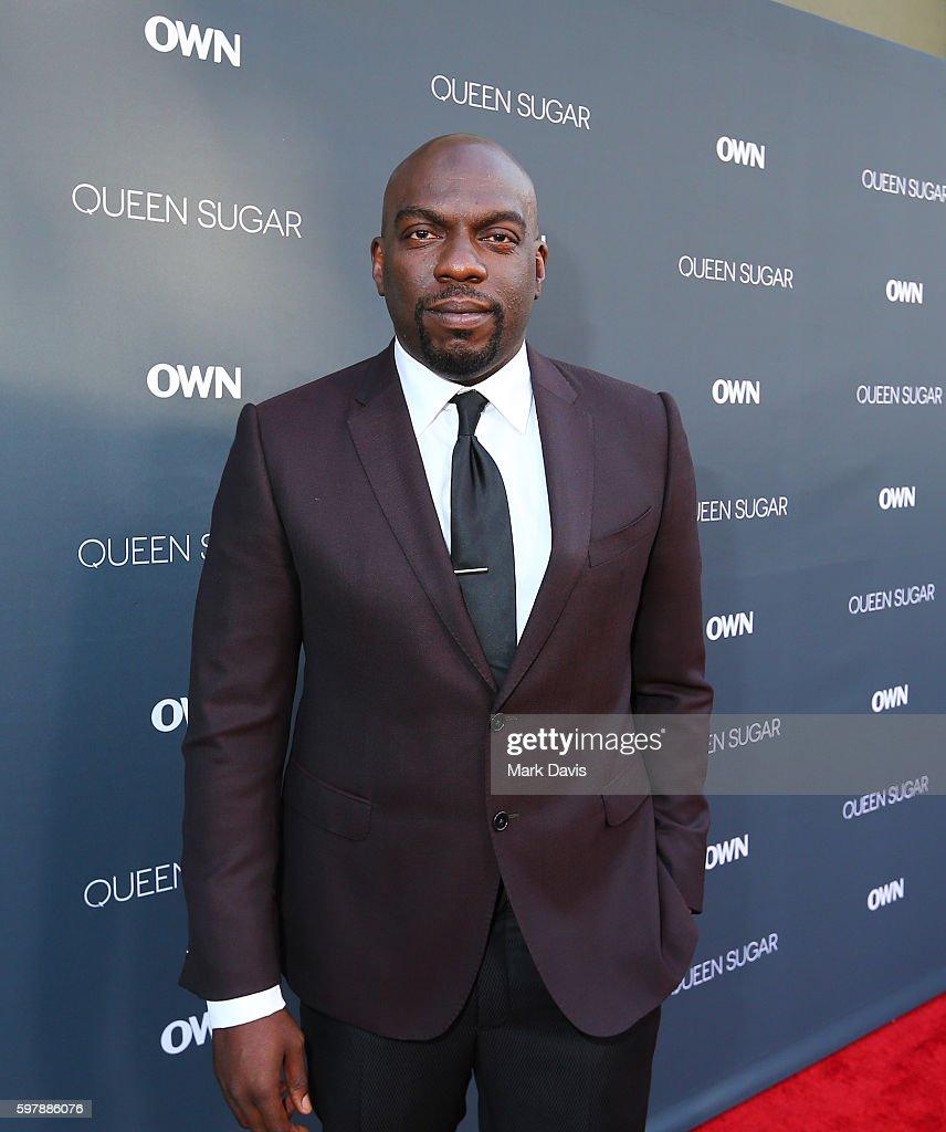 "Actor Omar J Dorsey attends OWN Oprah Winfrey Network's ""Queen Sugar"" premiere at the Warner Bros Studio Lot Steven J Ross Theater on August 29 2016..."