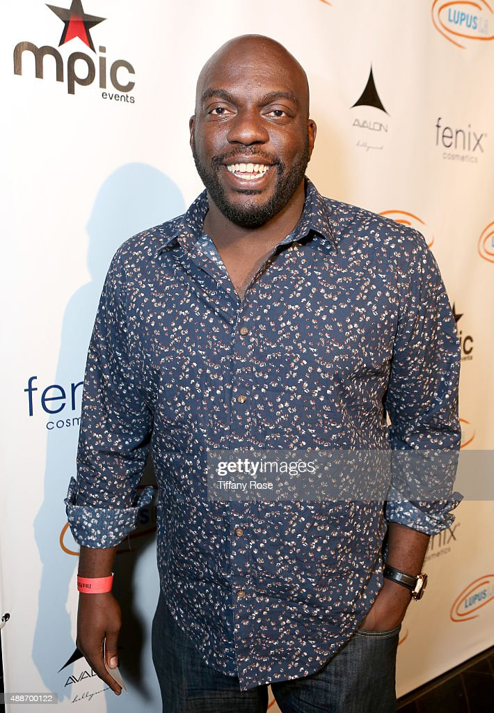 Actor <a gi-track='captionPersonalityLinkClicked' href=/galleries/search?phrase=Omar+J.+Dorsey&family=editorial&specificpeople=4029296 ng-click='$event.stopPropagation()'>Omar J. Dorsey</a> attends the Get Lucky for Lupus LA celebrity poker tournament and party at Avalon on September 16, 2015 in Hollywood California. Lupus LA raises funds for its patient programs, local rheumatology fellowships and research partner, The Lupus Research Institute.