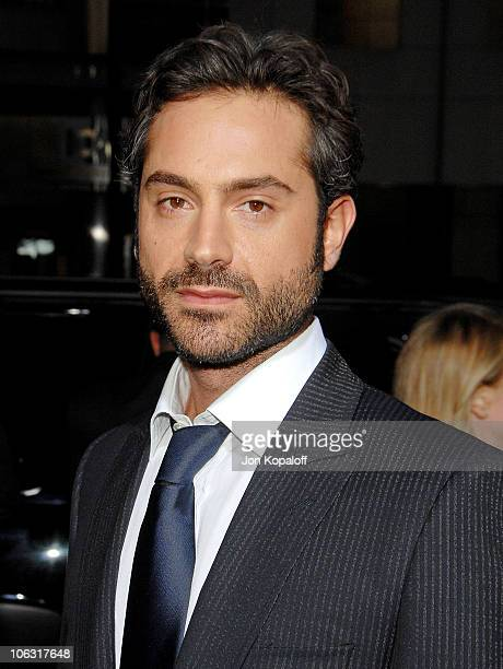 Actor Omar Metwally arrives at the Los Angeles Premiere 'Rendition' at the Academy of Motion Picture Arts and Sciences on October 10 2007 in Beverly...
