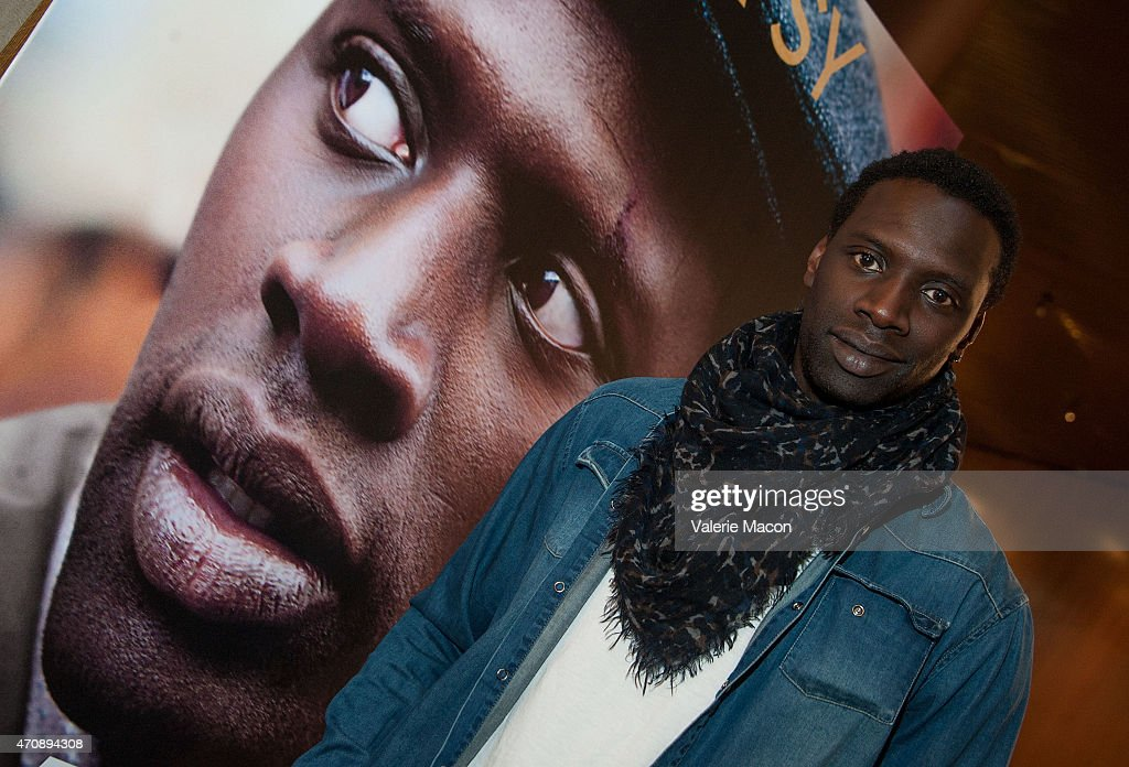 Actor <a gi-track='captionPersonalityLinkClicked' href=/galleries/search?phrase=Omar+Sy&family=editorial&specificpeople=4110364 ng-click='$event.stopPropagation()'>Omar Sy</a> arrives at the COLCOA French Film Festival at Directors Guild Of America on April 23, 2015 in Los Angeles, California.