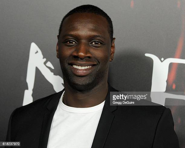 Actor Omar Sy arrives at the screening of Sony Pictures Releasing's 'Inferno' at DGA Theater on October 25 2016 in Los Angeles California