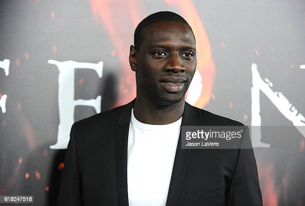 Actor Omar Sy attends a screening of 'Inferno' at DGA Theater on October 25 2016 in Los Angeles California