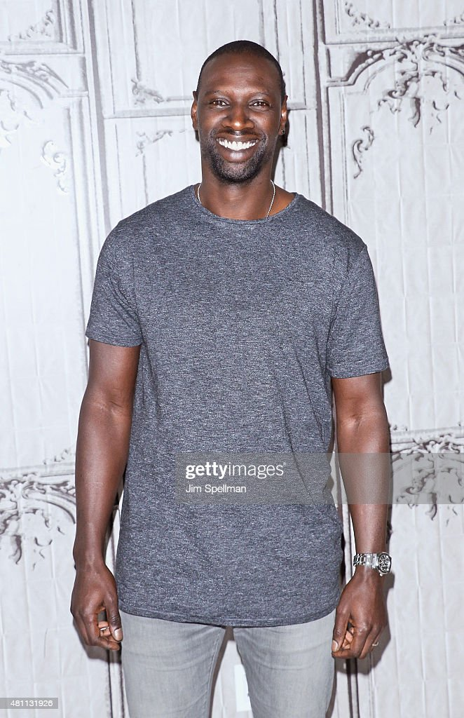 Actor Omar Sy attends the AOL BUILD Speaker Series: 'Samba' at AOL Studios In New York on July 17, 2015 in New York City.