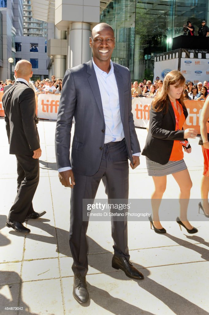 Actor Omar Sy attends the premiere of Samba at Roy Thomson Hall on September 7 2014 in Toronto Canada