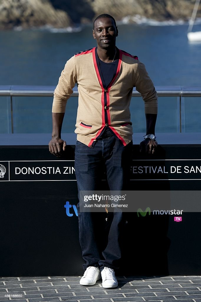 Actor Omar Sy attends the 'Samba' photocall at the Aquarium during the 62nd San Sebastian International Film Festival on September 27 2014 in San...