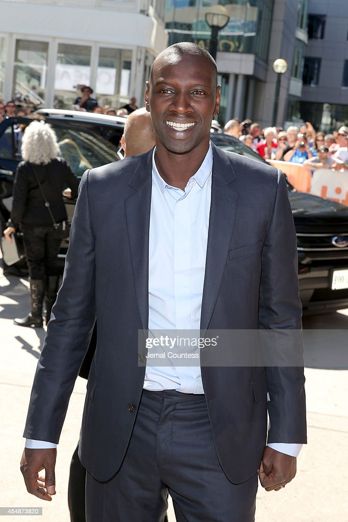Actor Omar Sy attends the 'Samba' premiere during the 2014 Toronto International Film Festival at Roy Thomson Hall on September 7 2014 in Toronto...