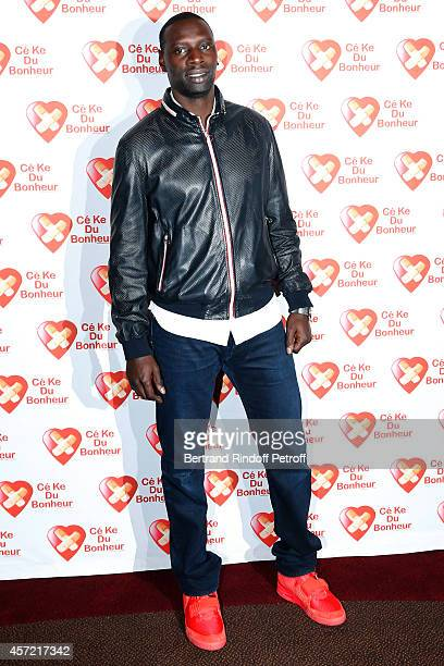 Actor Omar Sy attends the Samba Premiere to Benefit 'CekeDuBonheur' which celebrates its 10th anniversary Held at Cinema Gaumont Champs Elysees on...