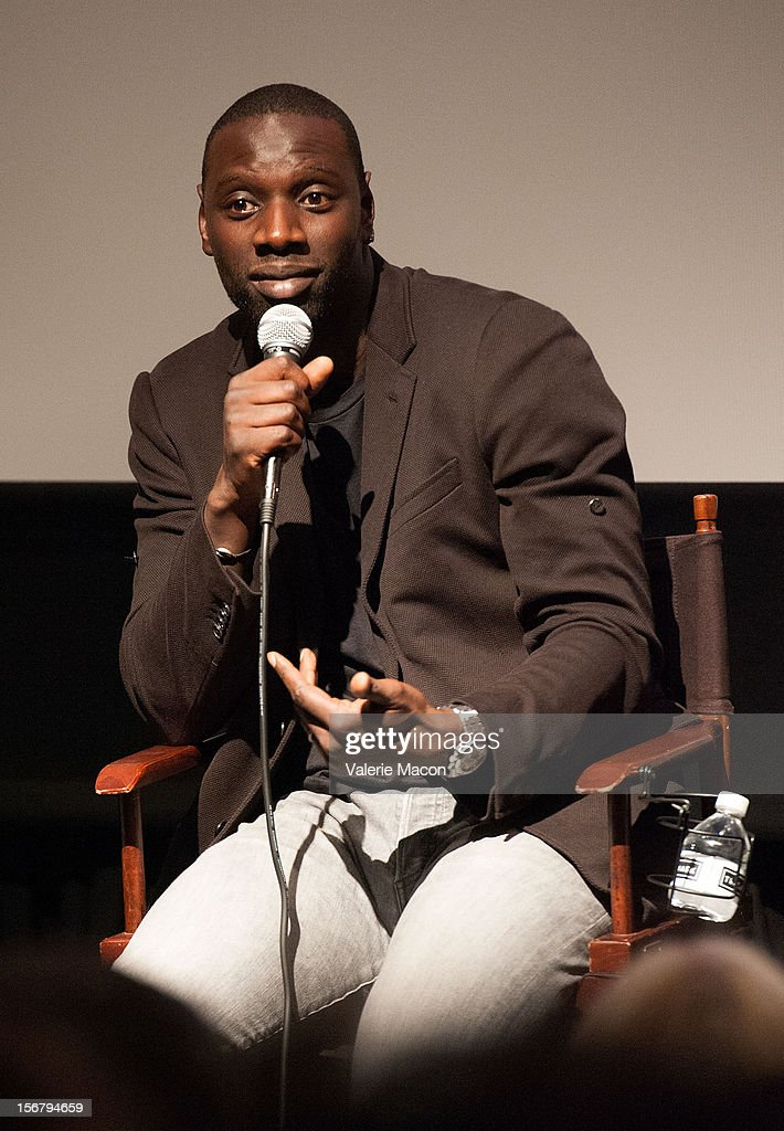 Actor <a gi-track='captionPersonalityLinkClicked' href=/galleries/search?phrase=Omar+Sy&family=editorial&specificpeople=4110364 ng-click='$event.stopPropagation()'>Omar Sy</a> attends TheWrap's Awards Season Screening Series Presents 'The Intouchables'on November 20, 2012 in Los Angeles, California.