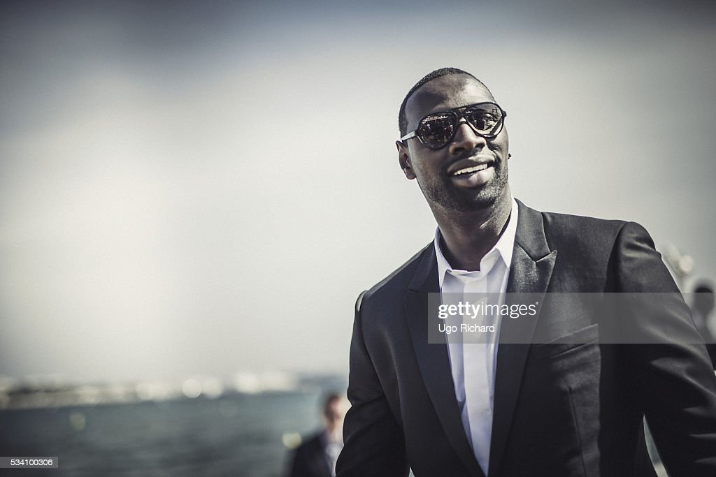 Actor <a gi-track='captionPersonalityLinkClicked' href=/galleries/search?phrase=Omar+Sy&family=editorial&specificpeople=4110364 ng-click='$event.stopPropagation()'>Omar Sy</a> is photographed for Gala on May 15, 2016 in Cannes, France.