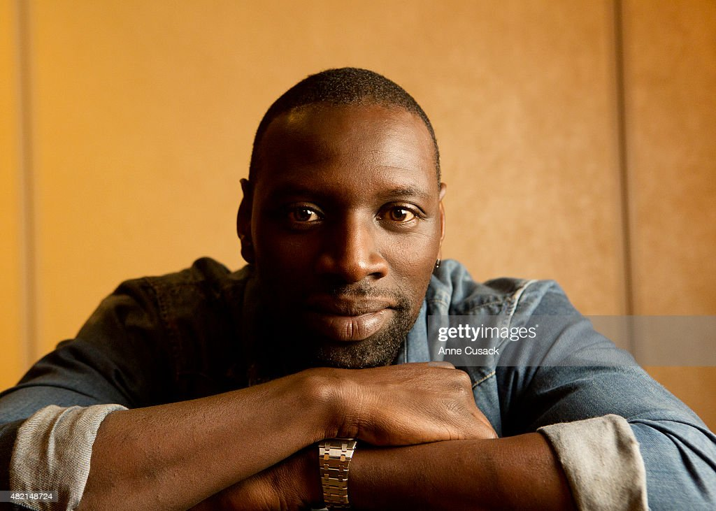 Actor <a gi-track='captionPersonalityLinkClicked' href=/galleries/search?phrase=Omar+Sy&family=editorial&specificpeople=4110364 ng-click='$event.stopPropagation()'>Omar Sy</a> is photographed for Los Angeles Times on July 19, 2015 in Beverly Hills, California. PUBLISHED IMAGE.