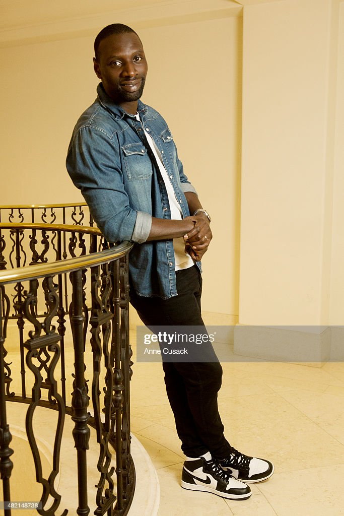 Actor Omar Sy is photographed for Los Angeles Times on July 19, 2015 in Beverly Hills, California. PUBLISHED IMAGE.