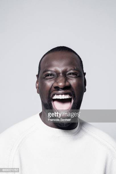 Actor Omar Sy is photographed for Self Assignment on November 24 2016 in Paris France