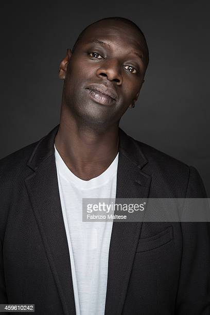 Actor Omar Sy is photographed for Studio Cine Live on September 7 2014 in Toronto Ontario