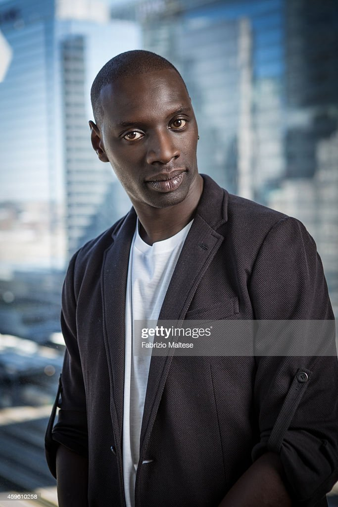 Actor Omar Sy is photographed for Studio Cine Live on September 7, 2014 in Toronto, Ontario.