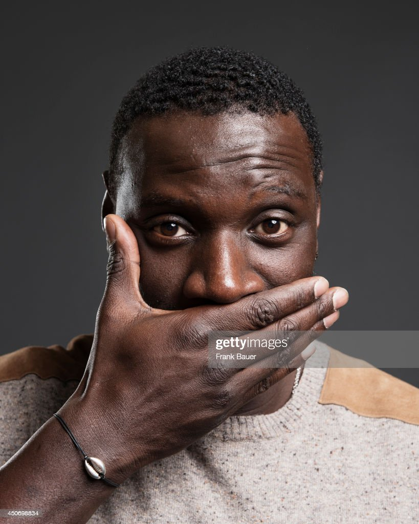 Actor Omar Sy is photographed for Sueddeutsche Zeitung magazine on March 19, 2013 in Munich, Germany.