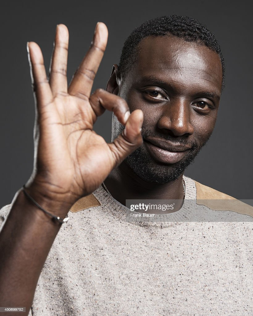 Actor <a gi-track='captionPersonalityLinkClicked' href=/galleries/search?phrase=Omar+Sy&family=editorial&specificpeople=4110364 ng-click='$event.stopPropagation()'>Omar Sy</a> is photographed for Sueddeutsche Zeitung magazine on March 19, 2013 in Munich, Germany.