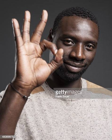 Actor Omar Sy is photographed for Sueddeutsche Zeitung magazine on March 19 2013 in Munich Germany