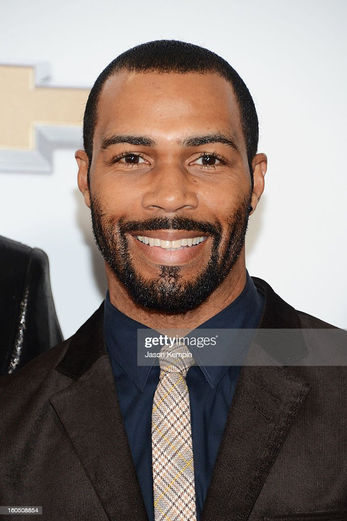 Actor Omari Hardwick arrives at the 44th NAACP Image Awards held at The Shrine Auditorium on February 1, 2013 in Los Angeles, California.