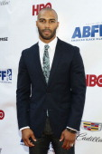 Actor Omari Hardwick attends 'Da Sweet Blood Of Jesus' world premiere during the 2014 American Black Film Festival at Metropolitan Pavilion on June...