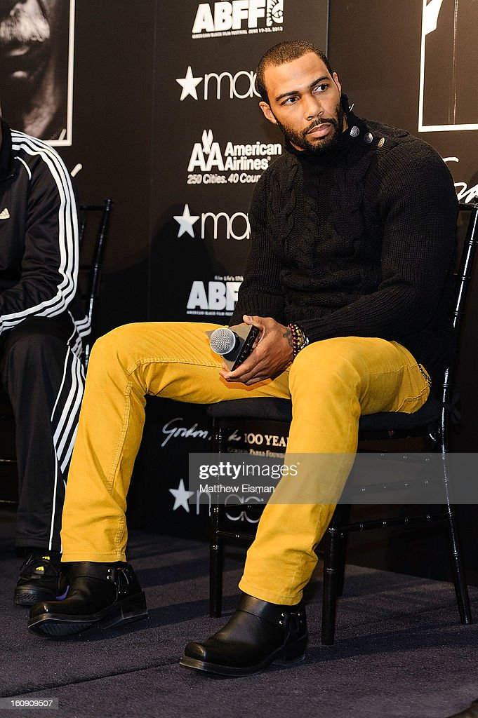 Actor <a gi-track='captionPersonalityLinkClicked' href=/galleries/search?phrase=Omari+Hardwick&family=editorial&specificpeople=4342711 ng-click='$event.stopPropagation()'>Omari Hardwick</a> attends 'In Conversation' Honoring Gordon Parks at Macy's Herald Square on February 7, 2013 in New York City.