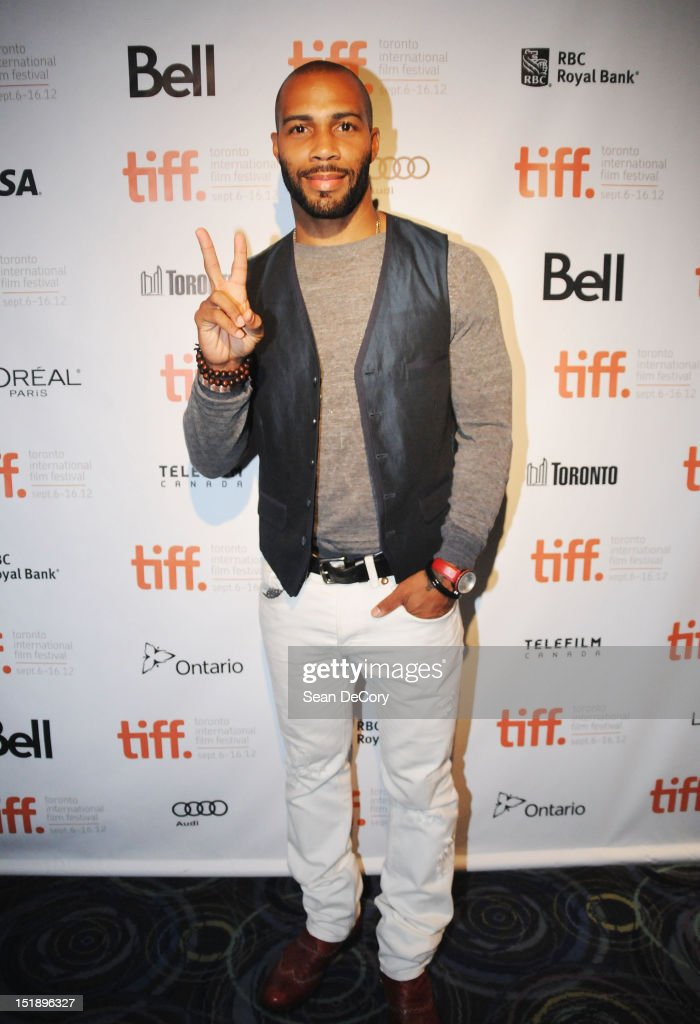 Actor Omari Hardwick attends 'Middle Of Nowhere' premiere during the 2012 Toronto International Film Festival at the Scotiabank Theatre on September 12, 2012 in Toronto, Canada.