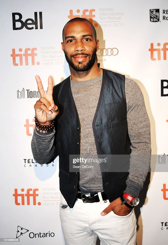 Actor <a gi-track='captionPersonalityLinkClicked' href=/galleries/search?phrase=Omari+Hardwick&family=editorial&specificpeople=4342711 ng-click='$event.stopPropagation()'>Omari Hardwick</a> attends 'Middle Of Nowhere' premiere during the 2012 Toronto International Film Festival at the Scotiabank Theatre on September 12, 2012 in Toronto, Canada.
