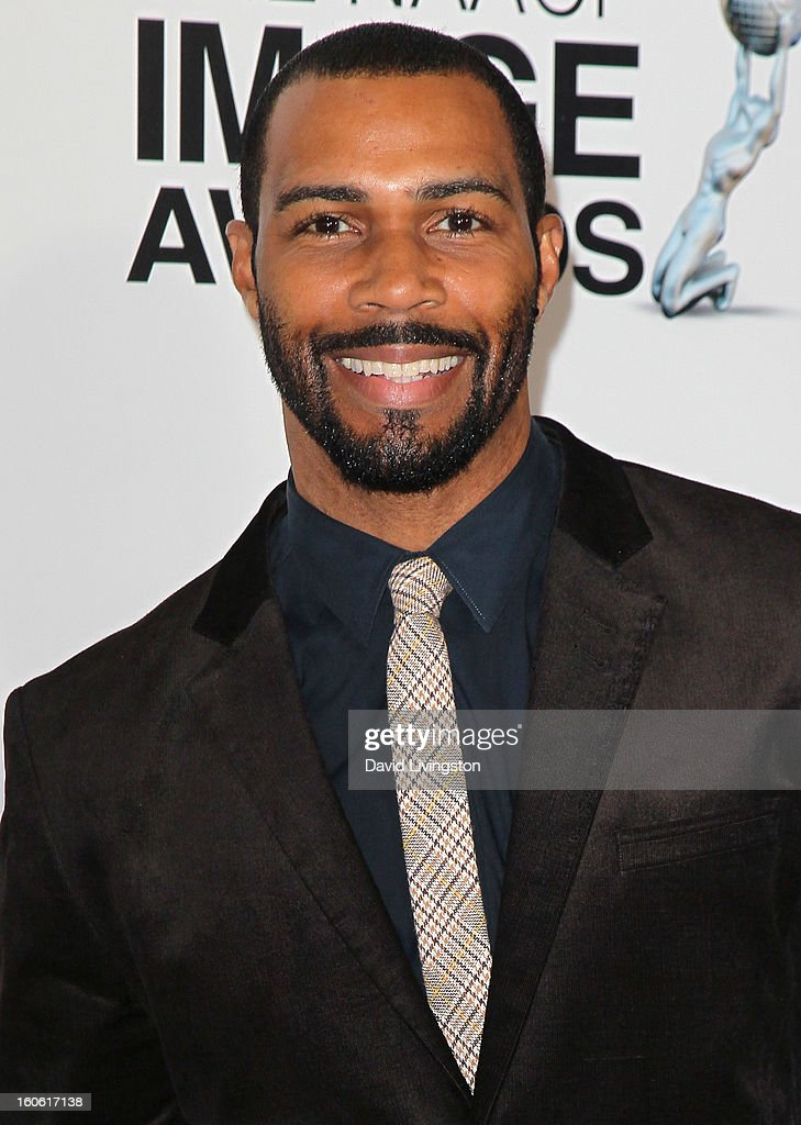 Actor <a gi-track='captionPersonalityLinkClicked' href=/galleries/search?phrase=Omari+Hardwick&family=editorial&specificpeople=4342711 ng-click='$event.stopPropagation()'>Omari Hardwick</a> attends the 44th NAACP Image Awards at the Shrine Auditorium on February 1, 2013 in Los Angeles, California.