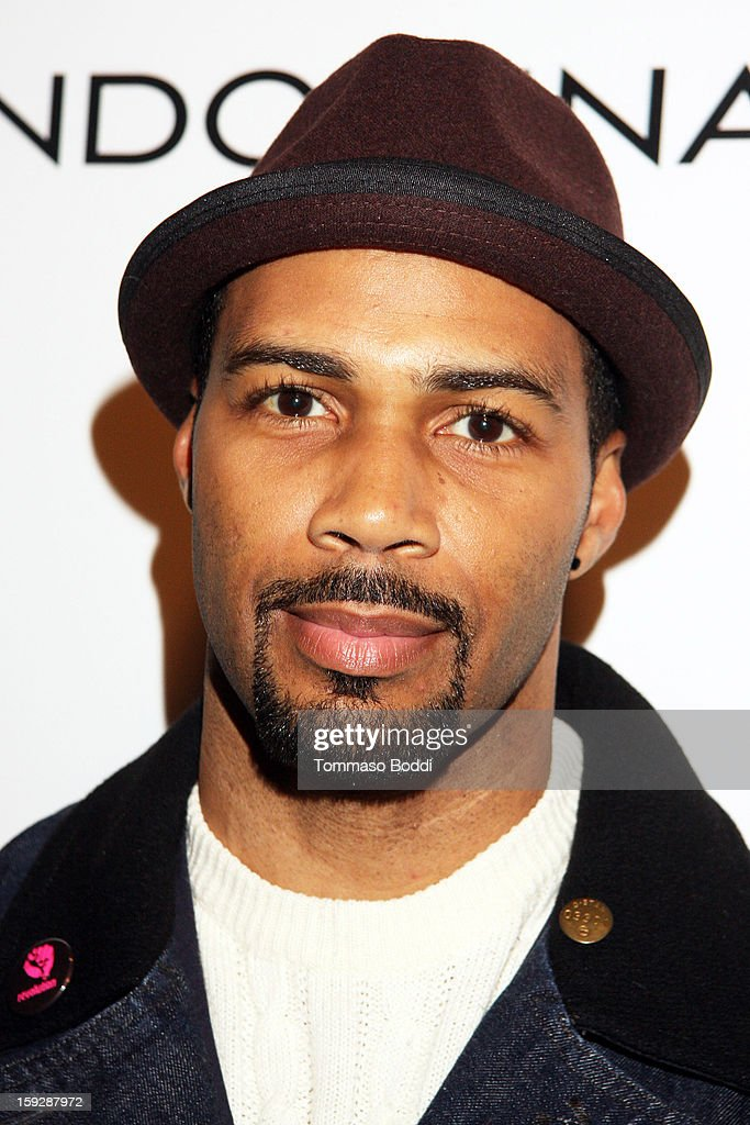 Actor Omari Hardwick attends the 'LUV' Los Angeles premiere held at the Pacific Design Center on January 10, 2013 in West Hollywood, California.