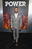 Actor Omari Hardwick attends the STARZ 'Power' New York season three premiere at SVA Theatre on June 22 2016 in New York City