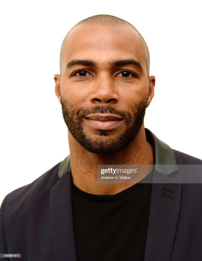 Actor Omari Hardwick attends the 'The Leading Man' panel discussion during the 2014 American Black Film Festival at Metropolitan Pavilion on June 20...
