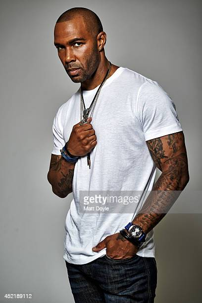 Actor Omari Hardwick is photographed for Back Stage on May 21 2014 in New York City