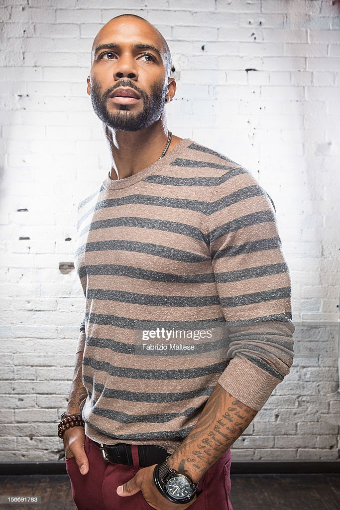 Actor Omari Hardwick is photographed for Self Assignment on September 11, 2012 in Toronto, Ontario.
