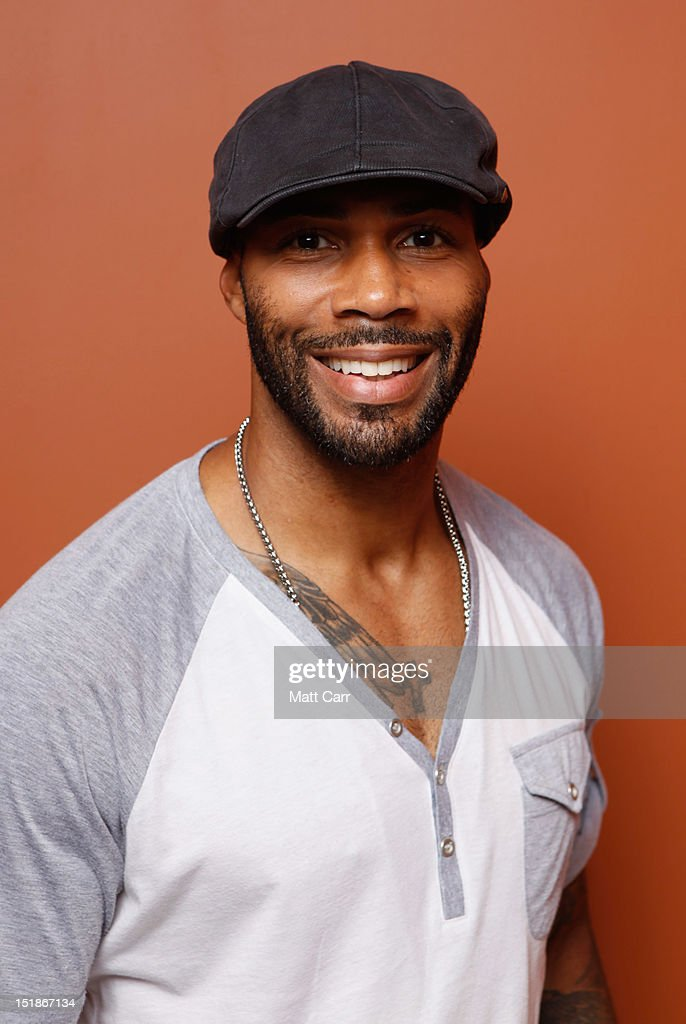 Actor <a gi-track='captionPersonalityLinkClicked' href=/galleries/search?phrase=Omari+Hardwick&family=editorial&specificpeople=4342711 ng-click='$event.stopPropagation()'>Omari Hardwick</a> of 'Middle of Nowhere' poses at the Guess Portrait Studio during 2012 Toronto International Film Festival on September 12, 2012 in Toronto, Canada.