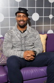 Actor Omari Hardwick visits 106 Park at BET studio on January 7 2014 in New York City